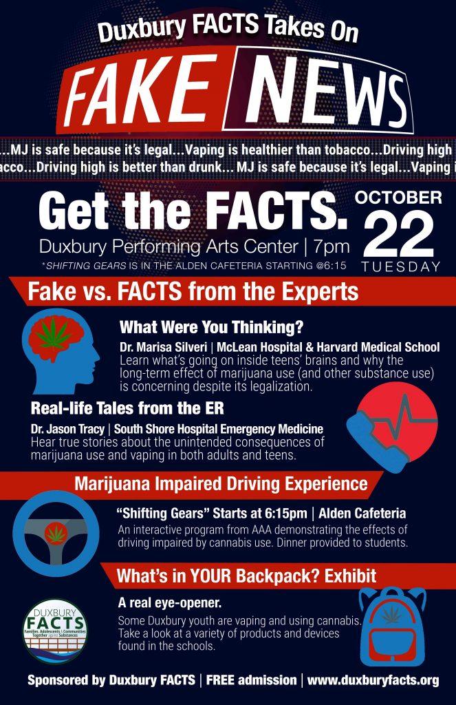 Duxbury FACTS takes on Fake News